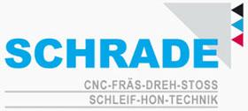 Schrade CNC -DIN/ISO zertifiziertes zukunftsorientiertes Unternehmen: CNC-Fräsen,  CNC-Stoßen,  Schleifen, Drehen, Honen, Bohren, Schneiden, Schweißen